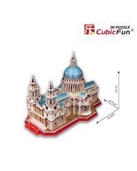 CUBICFUN 3D пазл Собор Святого Павла