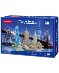 CUBICFUN 3D пазл Нью-Йорк
