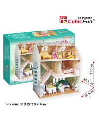 CUBICFUN 3D пазл кукольный дом Dreamy
